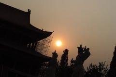 Sun de centro Imagenes de archivo