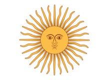 Sun de mayo Fotografía de archivo libre de regalías