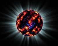 Sun de refrigeração ilustração royalty free