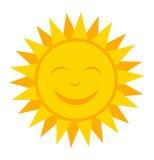 Sun de sorriso ilustração royalty free