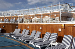Sun deck Stock Photography