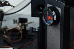 Sun della guantiera di sviluppo di scienza dell'università del laboratorio di ricerca Fotografie Stock Libere da Diritti