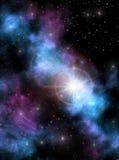 Sun della nebulosa illustrazione vettoriale