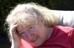 Sun in den Augen Lizenzfreies Stockfoto