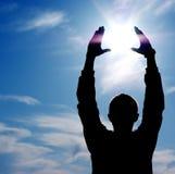 Sun in der Steuerung Lizenzfreies Stockfoto