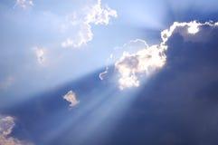 Sun derrière Photographie stock libre de droits