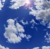 Sun des Zenites Stockfotos