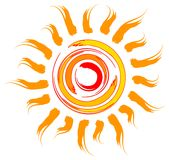 Sun design Stock Photo