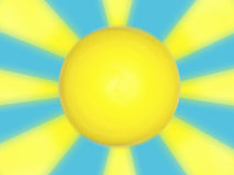 Sun design  Royalty Free Stock Images
