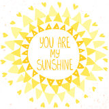 Sun design Stock Photography