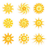 Sun designs vector Stock Photo