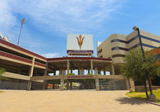 A Sun Devil Stadium Shot, Tempe, Arizona Stock Image