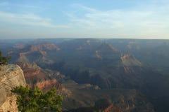 Sun di primo mattino al Grand Canyon Fotografia Stock Libera da Diritti