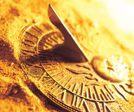 A sun dial Stock Photography