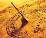 A sun dial Royalty Free Stock Images