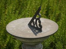 Free Sun Dial Royalty Free Stock Photography - 761757