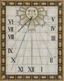 Sun dial Stock Image