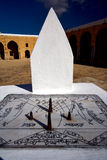 sun dial Great Mosque Stock Photography