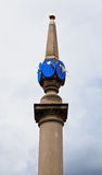 Sun Dial at Seven Dials Plaza London England Stock Image