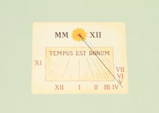 Sun-dial Royalty Free Stock Images