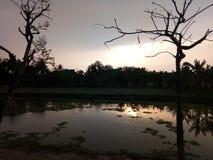 THE SUN DO SONHO Foto de Stock