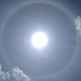 Sun dog Royalty Free Stock Photos
