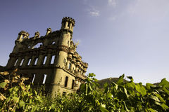 Sun Drenched Castle Stock Photography