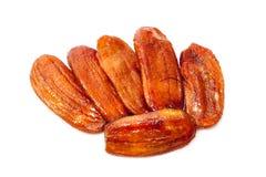 Sun dried banana, Honey Baked Bananas Stock Image