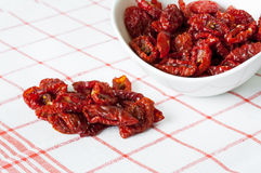 Sun dried cherry tomatoes Royalty Free Stock Photos
