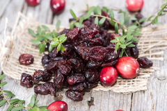 Sun dried Cranberries Stock Image