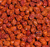 Sun dried dates Royalty Free Stock Images