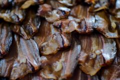 Sun-dried fish. Preservation Dried Fish Thailand Royalty Free Stock Photography