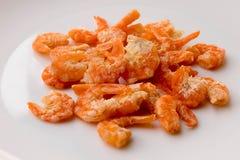 Sun dried shrimp Stock Photography