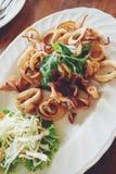 sun dried squid Royalty Free Stock Photo