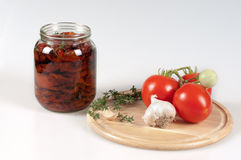 Sun Dried Tomato Royalty Free Stock Photography