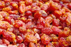 Sun dried tomato Royalty Free Stock Images