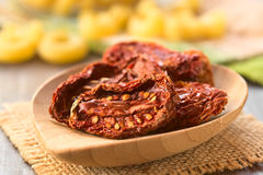 Sun-Dried Tomato Halves Stock Photography
