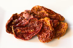 Sun-Dried Tomato Halves Royalty Free Stock Images