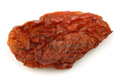 Sun dried tomato piece Royalty Free Stock Image