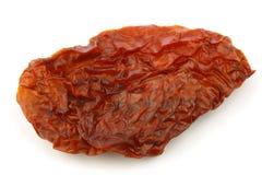 Sun dried tomato piece Royalty Free Stock Image
