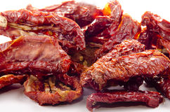 Sun-dried tomatoes Stock Photos