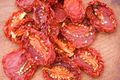 Sun Dried Tomatoes Stock Image