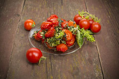 Sun-dried tomatoes Royalty Free Stock Image