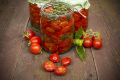 Sun-dried tomatoes Royalty Free Stock Photography