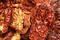 Sun dried tomatoes, closeup Stock Image