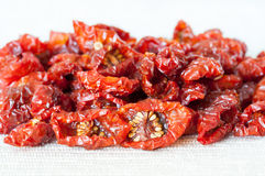 Sun-dried tomatoes Royalty Free Stock Images