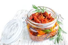 Sun-dried tomatoes Royalty Free Stock Photos