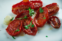 Sun-dried tomatoes. Royalty Free Stock Images