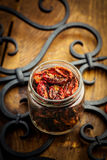 Sun dried tomatoes Royalty Free Stock Photo