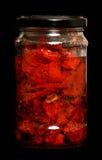 Sun dried tomatos Royalty Free Stock Photography